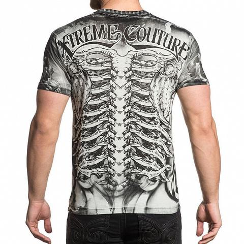 Xtreme Couture | Футболка мужская BIOMECHANICAL X1652 от Affliction спина