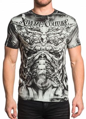 Xtreme Couture | Футболка мужская BIOMECHANICAL X1652 от Affliction перед
