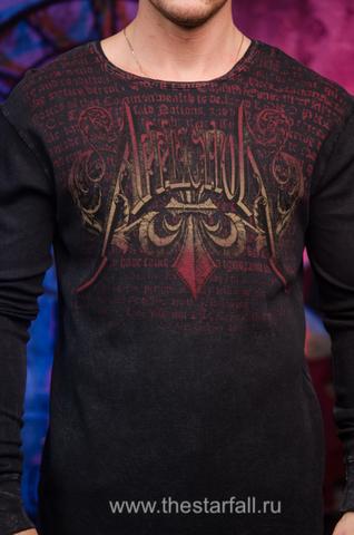 Affliction | Пуловер мужской A246 принт спереди