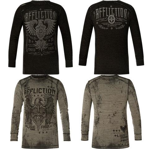 Пуловер двусторонний Affliction COPPER CASING