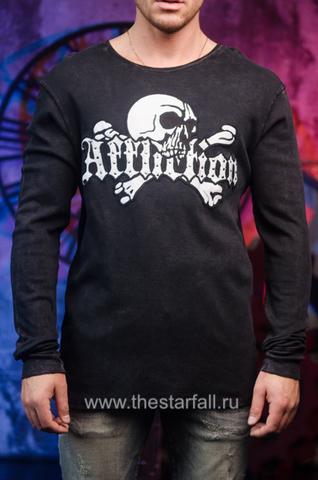 Черный мужской пуловер Affliction 247