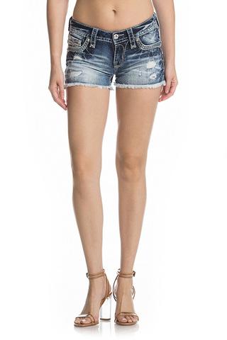 Rock Revival | Шорты женские джинсовые NISHA H201 SHORTS RP9588H201 перед