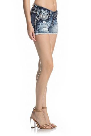 Rock Revival | Шорты женские джинсовые NISHA H201 SHORTS RP9588H201 правый бок