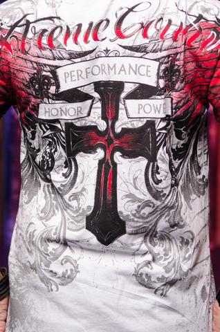 Футболка CARNIVORE Xtreme Couture от Affliction принт на спине