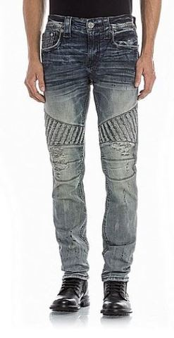 Джинсы Rock Revival WILKINS K2 BIKER JEAN