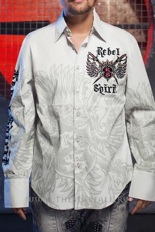 Рубашка Rebel Spirit LSW111031 перед
