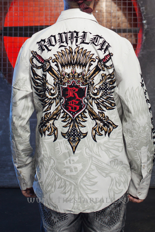 Рубашка Rebel Spirit LSW111031 спина