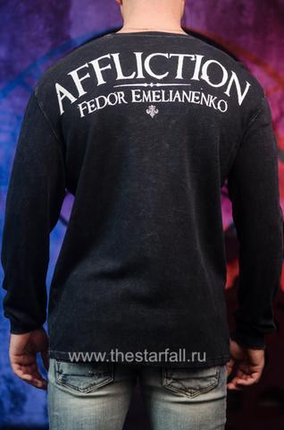 Affliction | Пуловер мужской Fedor Warbird Last Emperor A1091 спина