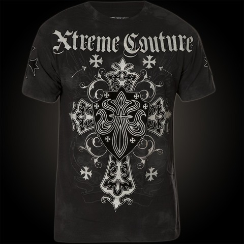 Xtreme Couture | Футболка мужская Charlie Foxtrot X1237 от Affliction перед