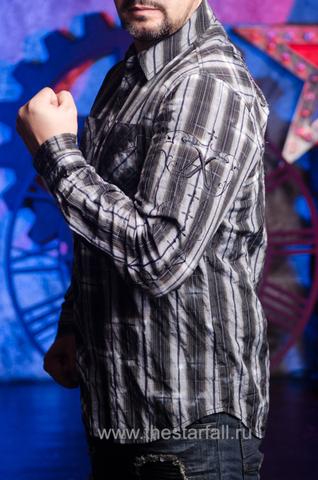 Affliction | Рубашка мужская A251 левый бок