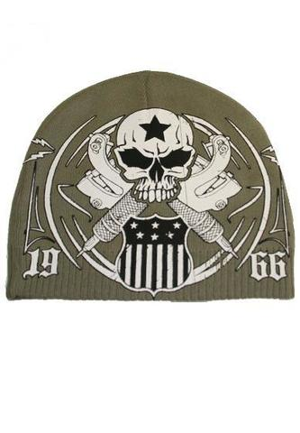 Шапка AMERICAN TRADITION BEANIE Green Rush Couture