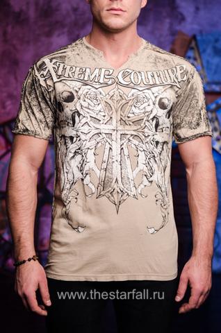 Футболка MUERTE Xtreme Couture от Affliction перед