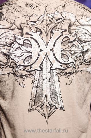 Футболка MUERTE Xtreme Couture от Affliction принт на спине