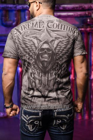 Футболка Xtreme Couture LAST SCREAM от Affliction спина