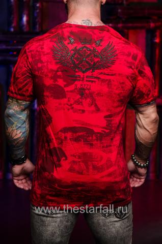 Футболка Xtreme Couture MAGNET от Affliction спина