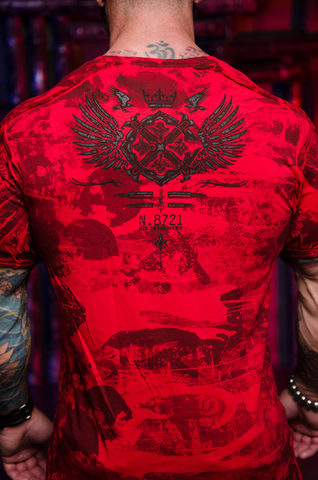 Футболка Xtreme Couture MAGNET от Affliction принт на спине