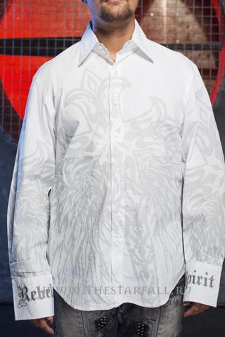 Рубашка Rebel Spirit LSW110778 перед на модели