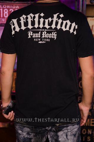 Affliction | Футболка мужская Paul Booth Tee Signature Series A568 спина