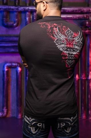 Футболка Xtreme Couture от Affliction Legionaire спина