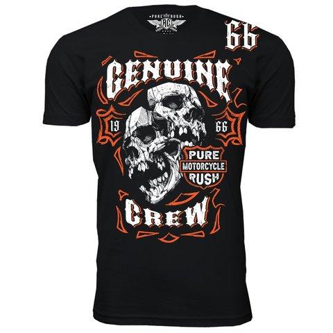 Футболка GENUINE CREW Rush Couture. Made in USA