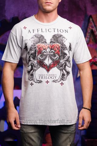 Футболка Affliction Fedor vs Barnett 4251
