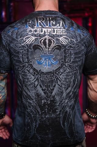 Xtreme Couture   Футболка мужская HONORABLE X1859I от Affliction принт на спине