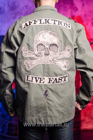 Куртка Affliction A226880 спина