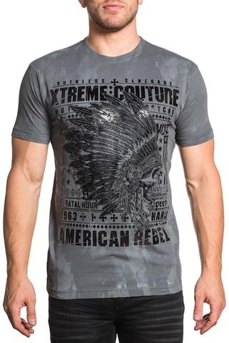 Футболка Lost Tribal Xtreme Couture от Affliction перед