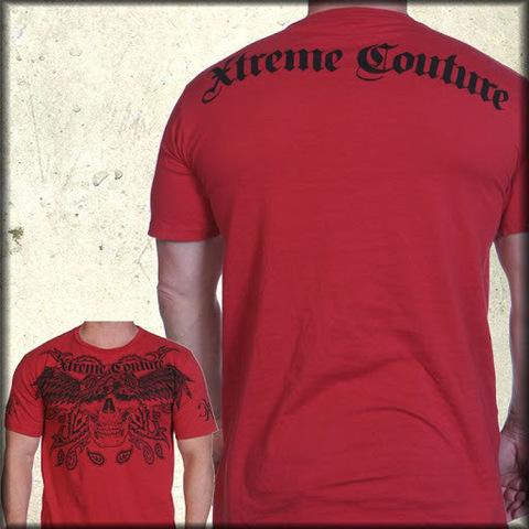 Xtreme Couture | Футболка мужская Bandana Red X36R от Affliction спина