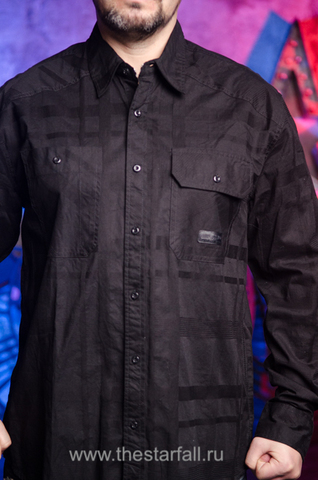 Affliction | Рубашка мужская BLACK IN BACK 110WV611 перед