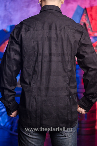 Affliction | Рубашка мужская BLACK IN BACK 110WV611 спина
