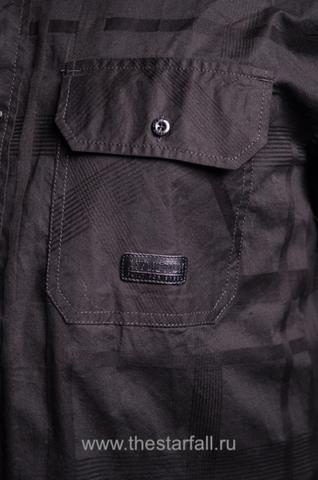 Affliction | Рубашка мужская BLACK IN BACK 110WV611 передний карман