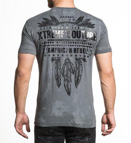 Футболка Lost Tribal Xtreme Couture от Affliction спина