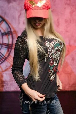Пуловер женский AFFLICTION PRECIOUS METAL