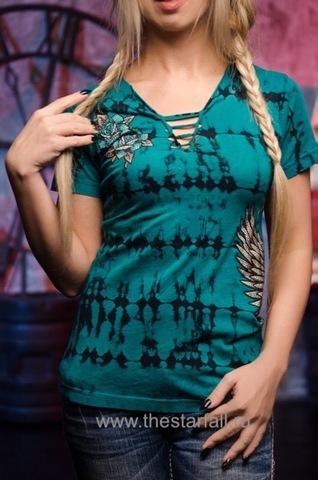 женская футболка SAVONA от AFFLICTION