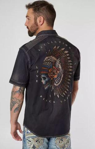 Рубашка с коротким рукавом Trench Affliction