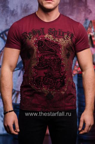 футболка Rebel Spirit со шлемом на груди