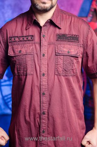 Affliction   Рубашка мужская RUSK 110WV668 передние карманы