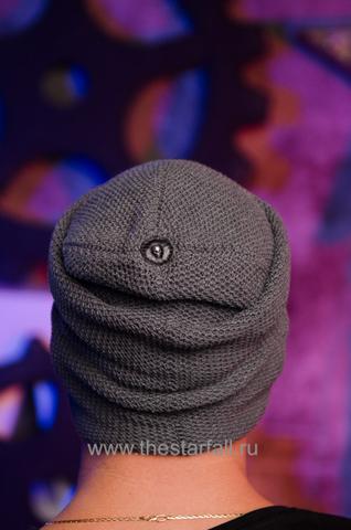 Шапка Plentitude от 7.17 Studio с черепом сзади