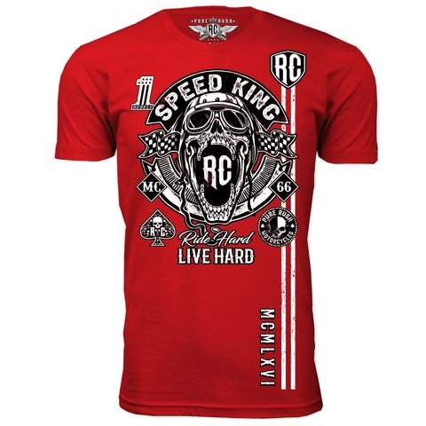 Футболка SPEED KING Rush Couture. Made in USA
