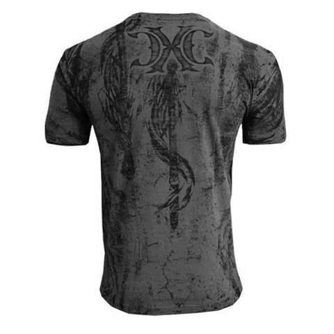 Xtreme Couture | Футболка мужская Earthless X1528 от Affliction спина