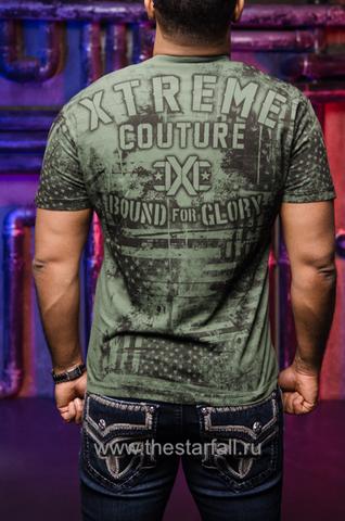 Xtreme Couture   Футболка мужская Pride & Glory X1778 от Affliction спина