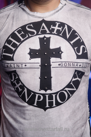 The Saints Sinphony | Футболка мужская ACE TSHM007 принт спереди