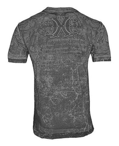 Xtreme Couture | Футболка мужская Valhalla X1499 от Affliction спина