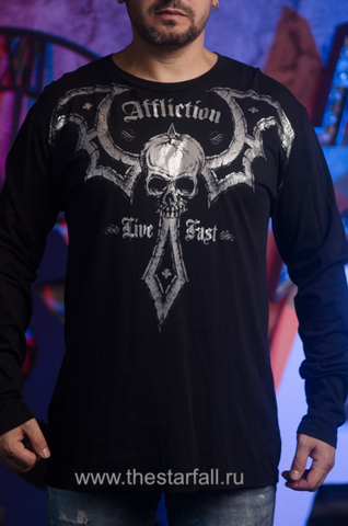 Футболка лонгслив Affliction 137