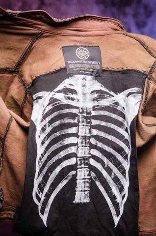 Куртка мужская джинсовая The Saints Sinphony TSJ012BRB подкладка с принтом
