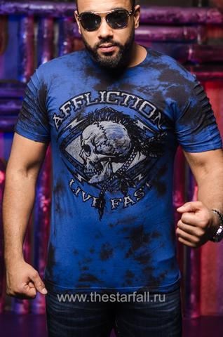 Купить футболку Affliction WARPATH CHALKBOARD