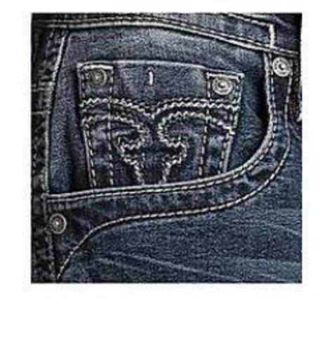 Rock Revival | Джинсы мужские PALFREY J201 STRAIGHT CUT JEAN RP2251J201 передний карман
