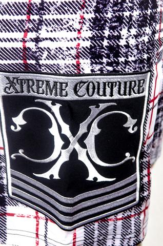 Xtreme Couture   Шорты мужские Warbird X644 от Affliction принт справа