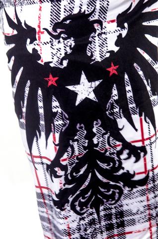 Xtreme Couture   Шорты мужские Warbird X644 от Affliction принт слева